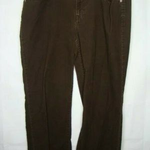 Loft Pant 12 Corduroy Original Boot Brown EE5
